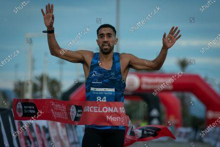 Editorial photo of Cursa dels Nassos race in Barcelona, Spain - 31 Dec 2020