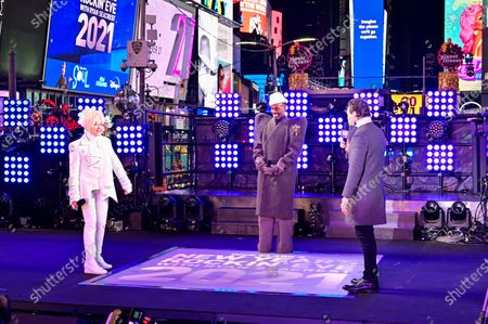 Cyndi Lauper, Billy Porter and Ryan Seacrest