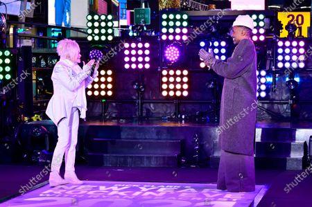 Cyndi Lauper and Billy Porter