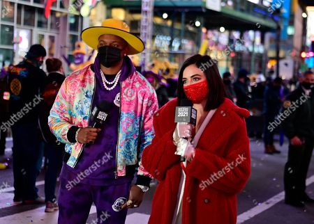 Editorial image of Dick Clark's New Year's Rockin' Eve, Times Square, New York, USA - 31 Dec 2020