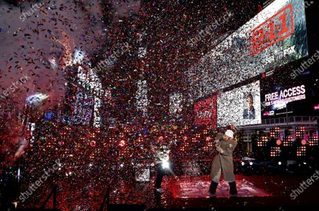 Editorial picture of Dick Clark's New Year's Rockin' Eve, Times Square, New York, USA - 31 Dec 2020