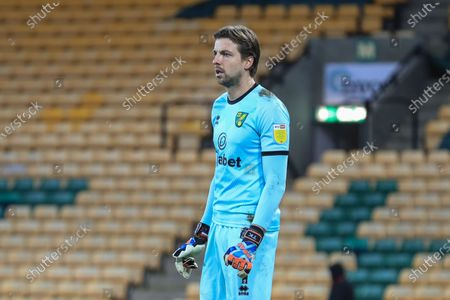 Tim Krul #1 of Norwich City during the game