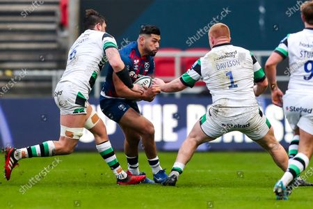 Editorial picture of Bristol Bears v Newcastle Falcons, UK - 01 Jan 2021
