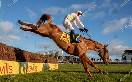 The Savills New Year's Day Steeplechase. David Mullins loses contact with Brahma Bull