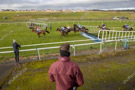 A general view of The David Flynn Construction Maiden Hurdle