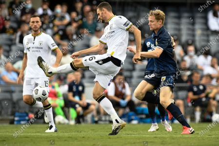 Editorial picture of Macarthur v Central Coast Mariners, A-League, Football, Campbelltown Sports Stadium, Sydney, Australia - 03 Jan 2021
