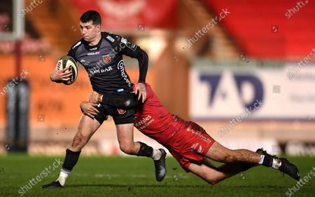 Editorial picture of Scarlets v Dragons - Guinness PRO14 - 01 Jan 2021