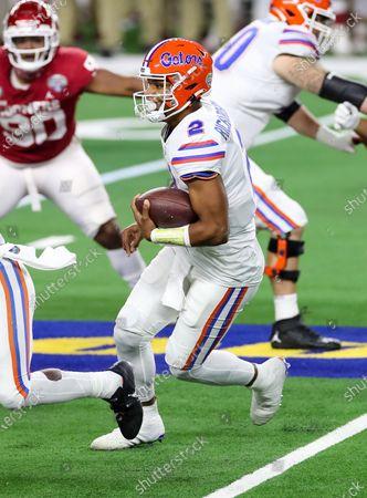 Editorial image of NCAA Football Goodyear Cotton Bowl, Arlington, USA - 30 Dec 2020