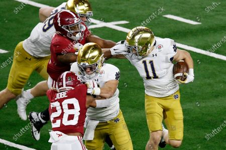 Editorial picture of Rose Bowl Football, Arlington, United States - 01 Jan 2021