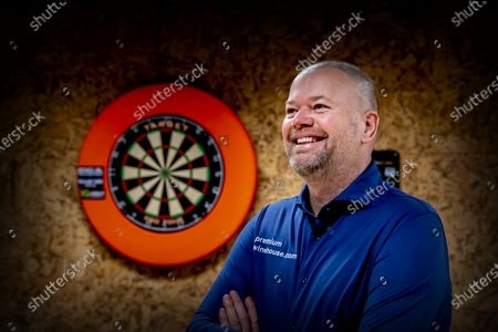 Editorial photo of Raymond van Barneveld darts training, Spijkernisse, Netherlands - 11 Dec 2020