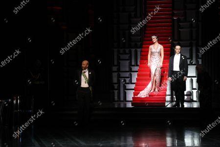 Editorial image of 'The Merry Widow' Dress Rehearsal, Sydney Opera House, Sydney, Australia - 02 Jan 2021
