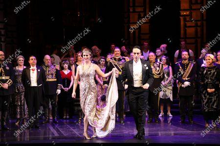 Editorial photo of 'The Merry Widow' Dress Rehearsal, Sydney Opera House, Sydney, Australia - 02 Jan 2021