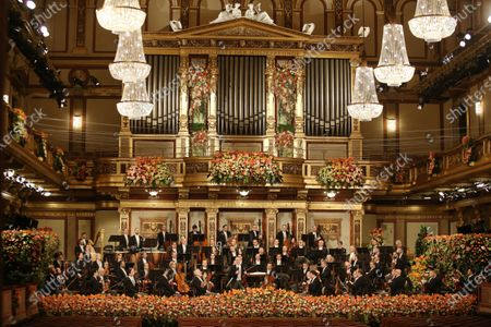 Editorial photo of Austria Vienna Concert New Year - 01 Jan 2021