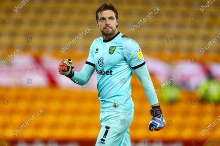 Tim Krul of Norwich City - Norwich City v Barnsley, Sky Bet Championship, Carrow Road, Norwich, UK - 2nd January 2020