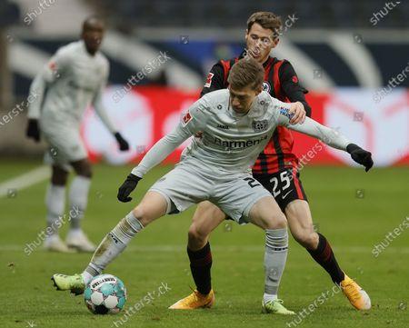 Editorial picture of Eintracht Frankfurt vs Bayer 04 Leverkusen, Germany - 02 Jan 2021