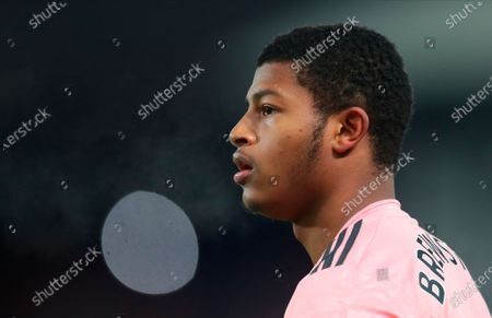 Sheffield United's Rhian Brewster in action during the English Premier League soccer match between Crystal Palace and Sheffield United in London, Britain, 02 January 2021.