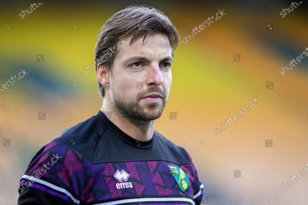 Goalkeeper Tim Krul of Norwich City before Kick off