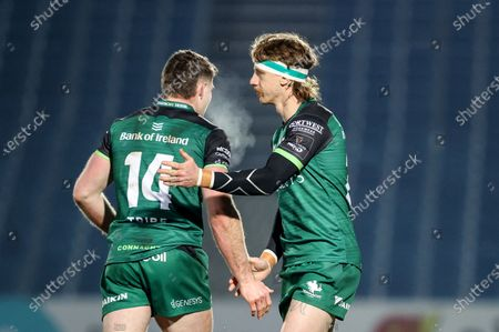 Editorial picture of Guinness PRO14, RDS Main Arena, Co. Dublin - 02 Jan 2021