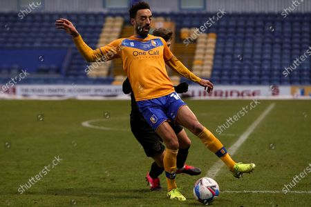 Editorial image of Mansfield Town v Port Vale, UK - 02 Jan 2021