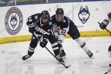 Editorial picture of New Hampshire UConn Hockey, Storrs, United States - 02 Jan 2021