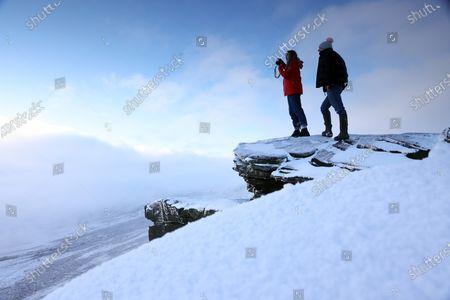 Editorial image of Seasonal weather, Saddleworth Moor, UK - 01 Jan 2020