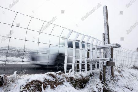 Editorial photo of Seasonal weather, Saddleworth Moor, UK - 01 Jan 2020
