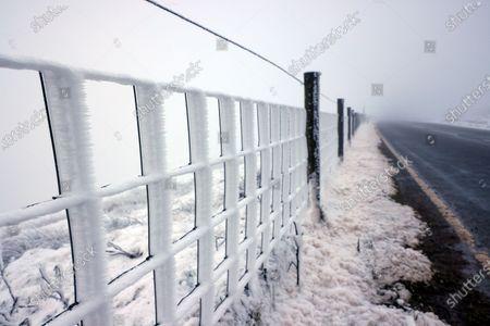 Editorial picture of Seasonal weather, Saddleworth Moor, UK - 01 Jan 2020