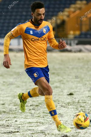 Editorial photo of Mansfield Town v Port Vale, UK - 03 Jan 2021