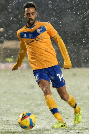 Stock Picture of James Perch of Mansfield Town