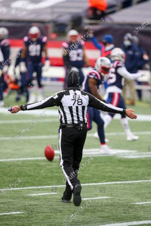 Editorial picture of Jets Patriots Football, Foxborough, United States - 03 Jan 2021