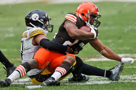 Editorial photo of Steelers Browns Football, Cleveland, United States - 03 Jan 2021
