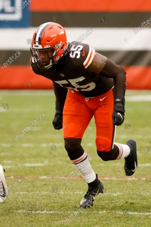 Editorial image of Steelers Browns Football, Cleveland, United States - 03 Jan 2021