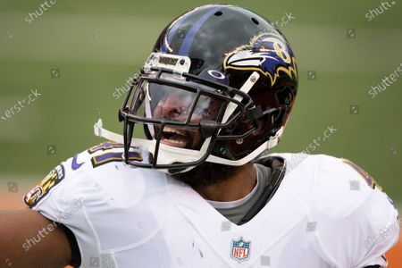 Baltimore Ravens defensive back Anthony Levine (41) during an NFL football game against the Cincinnati Bengals, in Cincinnati