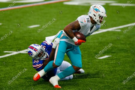 Editorial picture of Dolphins Bills Football, Orchard Park, United States - 03 Jan 2021