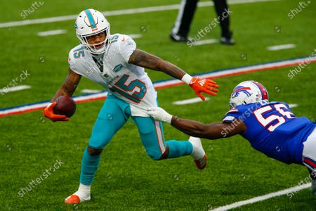 Editorial image of Dolphins Bills Football, Orchard Park, United States - 03 Jan 2021