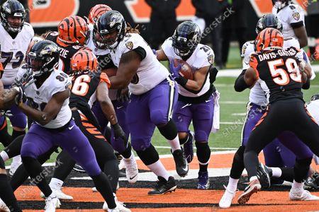 Editorial image of NFL Ravens vs Bengals, Cincinnati, USA - 03 Jan 2021