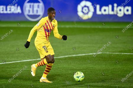 Ousmane Dembele of FC Barcelona