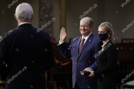 Editorial image of Opening Day Of The 117th Congress On Capitol Hill, Washington DC, USA - 03 Jan 2021