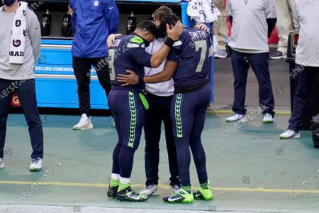Editorial picture of Seahawks 49ers Football, Glendale, United States - 03 Jan 2021