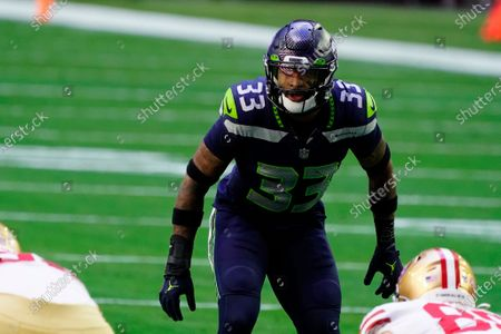 Seattle Seahawks strong safety Jamal Adams (33) during an NFL football game against the San Francisco 49ers, in Glendale, Ariz