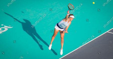 Editorial photo of Abu Dhabi WTA Women's Tennis Open, International Tennis Centre, Abu Dhabi, United Arab Emirates - 06 Jan 2021