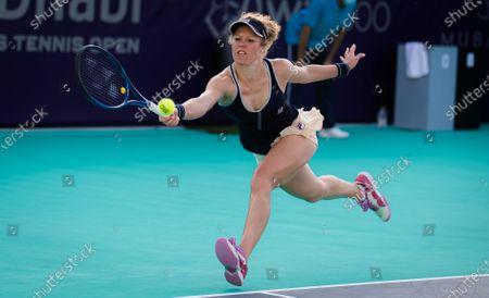 Editorial picture of Abu Dhabi WTA Women's Tennis Open, International Tennis Centre, Abu Dhabi, United Arab Emirates - 06 Jan 2021
