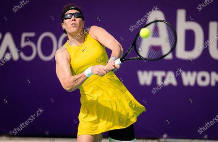 Editorial photo of Abu Dhabi WTA Women's Tennis Open, International Tennis Centre, Abu Dhabi, United Arab Emirates - 07 Jan 2021