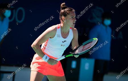 Editorial picture of Abu Dhabi WTA Women's Tennis Open, International Tennis Centre, Abu Dhabi, United Arab Emirates - 10 Jan 2021
