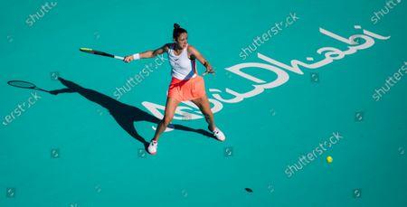 Editorial image of Abu Dhabi WTA Women's Tennis Open, International Tennis Centre, Abu Dhabi, United Arab Emirates - 11 Jan 2021
