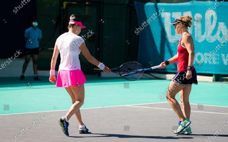 Editorial photo of Abu Dhabi WTA Women's Tennis Open, International Tennis Centre, Abu Dhabi, United Arab Emirates - 11 Jan 2021