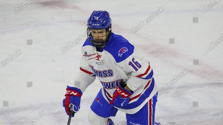 Editorial photo of Maine UMass Hockey, Lowell, United States - 04 Jan 2021