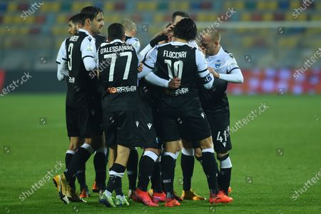 Editorial picture of Frosinone v Spal, Serie B Football, Rome, Italy - 04 Jan 2021
