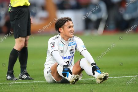 Takashi Usami (Gamba) - Football / Soccer :  The 100th Emperor's Cup All Japan Football Championship  Final  between Kawasaki Frontale 1-0 Gamba Osaka  at National Stadium, Tokyo, Japan.