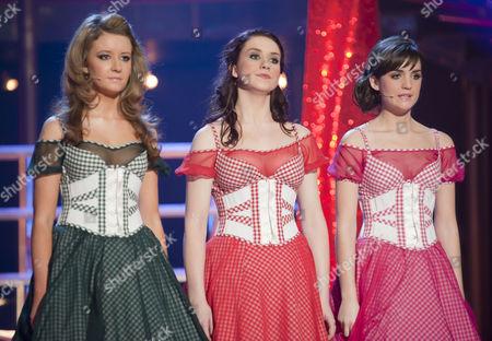 Emilie Flemming, Danielle Hope, Lauren Samuels.